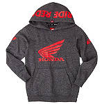 One Industries Youth Honda Ride Red Hoody - ATV Youth Sweatshirts and Hoodies