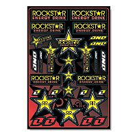 One Industries Rockstar Decal Sheet