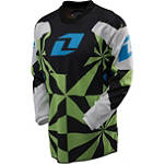 2013 One Industries Youth Carbon Jersey - Hypno - Dirt Bike Riding Gear