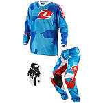 2014 One Industries Youth Atom Combo - Camoto -  Dirt Bike Pants, Jersey, Glove Combos