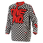 2014 One Industries Youth Atom Jersey - Chex - Dirt Bike Riding Gear