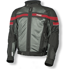 Olympia Renegade Mesh Tech Jacket - Scorpion EXO-500 Helmet - West