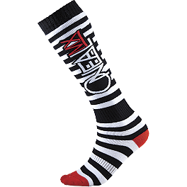 2014 O'Neal Pro MX Socks - 2012 Fox Fri Socks - Thin