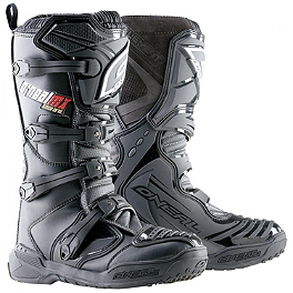 2014 O'Neal Element Boots - 2013 Fly Racing Kinetic Boots