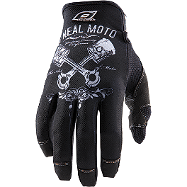 2014 O'Neal Jump Gloves - 2013 Fox The Bones Gloves
