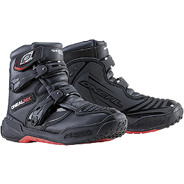 2014 O'Neal Shorty II Boots - Alpinestars Tech-2 Boots