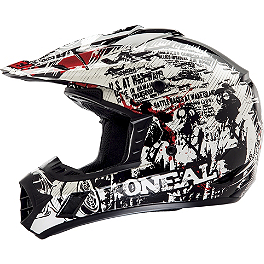 2014 O'Neal 3 Series Helmet - Invader - M2R MX-1 Helmet - Element