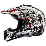 2014 O'Neal 3 Series Helmet - Invader - Cycle Case Utility ATV Helmets and Accessories