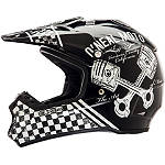 2014 O'Neal 5 Series Helmet - Piston - Cycle Case ATV Riding Gear