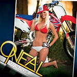 O'Neal / Azonic 2013 Calendar - Dirt Bike Collectibles