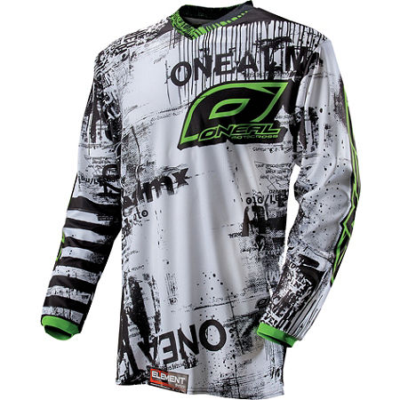 2013 O'Neal Element Jersey - Toxic - Main
