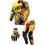 2013 O'Neal Mayhem Combo - Roots - SIDI Dirt Bike Riding Gear