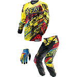 2014 O'Neal Element Combo - Acid - O'Neal Dirt Bike Pants, Jersey, Glove Combos