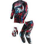 2014 O'Neal Element Combo - Mutant - O'Neal Utility ATV Pants, Jersey, Glove Combos