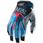 Race Black-Blue-Red Glove