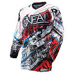 2014 O'Neal Element Jersey - Acid - O'Neal Dirt Bike Riding Gear
