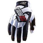 Race White-Black Glove