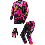 2014 O'Neal Women's Element Combo - O'Neal Dirt Bike Pants, Jersey, Glove Combos