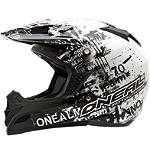 2012 O'Neal Youth 5 Series Helmet - Toxic - Discount & Sale Utility ATV Helmets