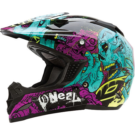 2013 O'Neal Youth 5 Series Helmet - Zombie - Main