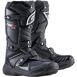 2014 O'Neal Youth Element Boots - 2013 Fly Racing Youth Maverik MX Boots