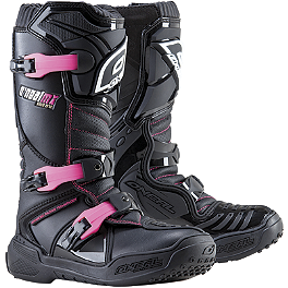 2014 O'Neal Girl's Element Boots - 2014 Fox Girl's R3 Chest Protector