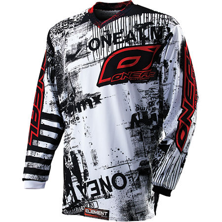 2012 O'Neal Youth Element Jersey - Toxic - Main