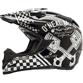 2014 O'Neal Youth 5 Series Helmet - Piston - Vega Youth Viper Helmet - No Guts No Glory