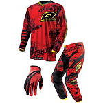 2013 O'Neal Youth Element Combo - Toxic - Utility ATV Pants, Jersey, Glove Combos