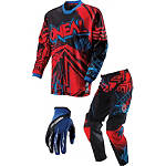 2013 O'Neal Youth Mayhem Combo - Roots - Utility ATV Pants, Jersey, Glove Combos