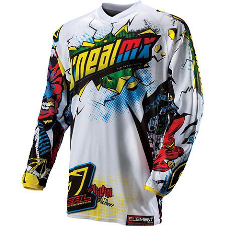 2013 O'Neal Youth Element Jersey - Villain - Main
