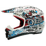 2014 O'Neal Youth 5 Series Helmet - Acid - Cycle Case Utility ATV Helmets and Accessories