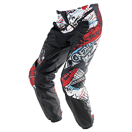 2014 O'Neal Youth Element Pants - Acid - 2013 One Industries Youth Carbon Jersey - Static