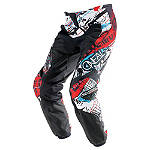 2014 O'Neal Youth Element Pants - Acid - In The Boot Utility ATV Pants