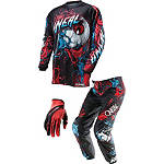 2014 O'Neal Youth Element Combo - Mutant - Utility ATV Pants, Jersey, Glove Combos