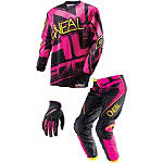2014 O'Neal Girl's Element Combo - O'Neal Utility ATV Pants, Jersey, Glove Combos