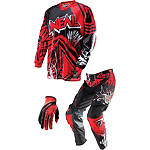 2014 O'Neal Youth Mayhem Combo - Roots - Utility ATV Pants, Jersey, Glove Combos