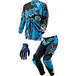 2014 O'Neal Youth Mayhem Combo - Roots Vented - Utility ATV Pants, Jersey, Glove Combos