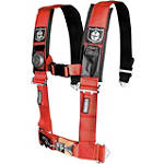 "Pro Armor 4-Point 3"" Harness with Pads - Dirt Bike Seats and Backrests"