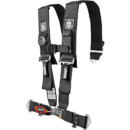 "Pro Armor 5-Point 3"" Harness with Pads - Not Sewn - Dragonfire Racing 5-Point SFI Approved Racing Harness"