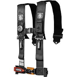 "Pro Armor 5-Point 3"" Harness with Pads - Special Edition - Dragonfire Racing 5-Point SFI Approved Racing Harness"