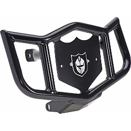 Pro Armor Dominator Front Bumper - Black - Rock Pro Series Race Nerf Bars - Black