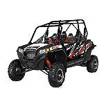 Pro Armor Graphic Kit With Cut Outs - PRO-ARMOR-RACING-FOUR Pro Armor Racing Utility ATV