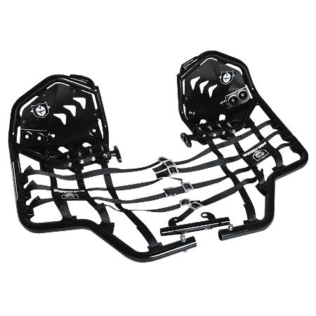 Pro Armor Revolution Nerf Bars With Heel Plates - Black  - Main