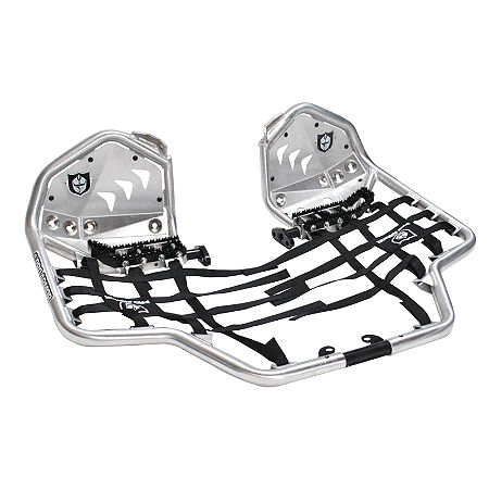 Pro Armor Revolution Nerf Bars With Heel Plates - Silver  - Main
