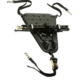 Pro Armor QuickShot Universal Spare Tire And Accessory Mount - Horizontal - Pro Armor Rear Skid Plate