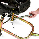 Pit Bull Axle Holder For Front / Rear Stands - PITBULL-PRODUCTS,-INC. Motorcycle Ramps and Stands