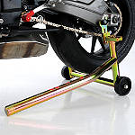 Pit Bull Forward Handle Rear Stand - Pit Bull Products, Inc. Motorcycle Ramps and Stands