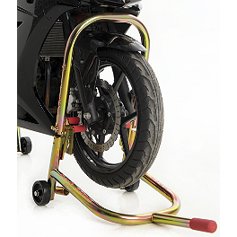 Pit Bull Hybrid Dual Lift Front Stand With Pin - 1990 Honda NT650 - Hawk GT Pit Bull Hybrid Converter With Pin
