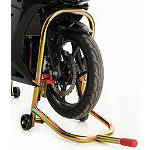 Pit Bull Hybrid Dual Lift Front Stand With Pin - PITBULL-PRODUCTS,-INC. Motorcycle Tools and Maintenance